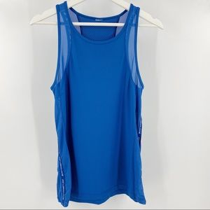 Lorna Jane workout tank top with mesh